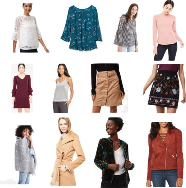 Weekend sale picks- fall and holiday ready