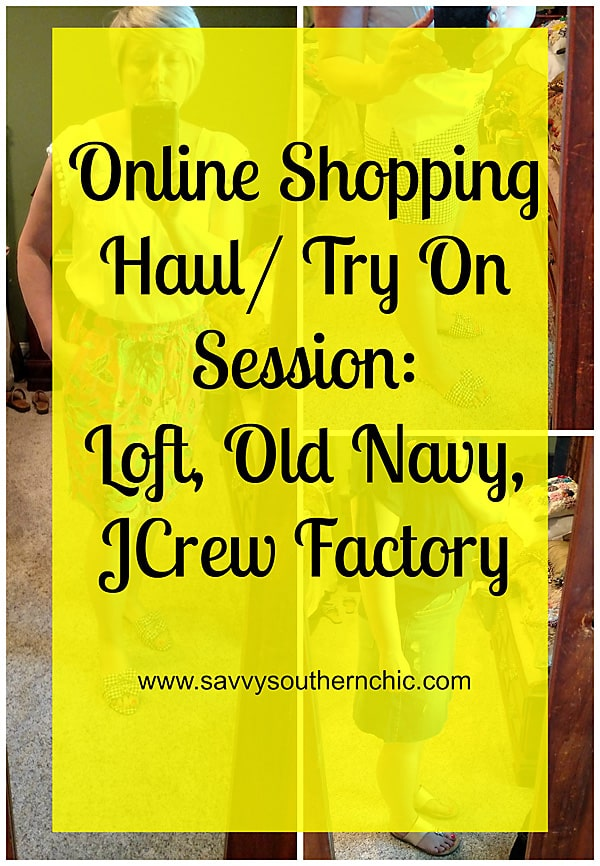 Recent online shopping haul- try on session