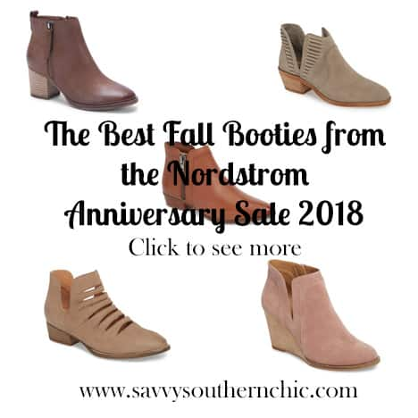 Best fall booties Nordstrom Anniversary Sale 2018