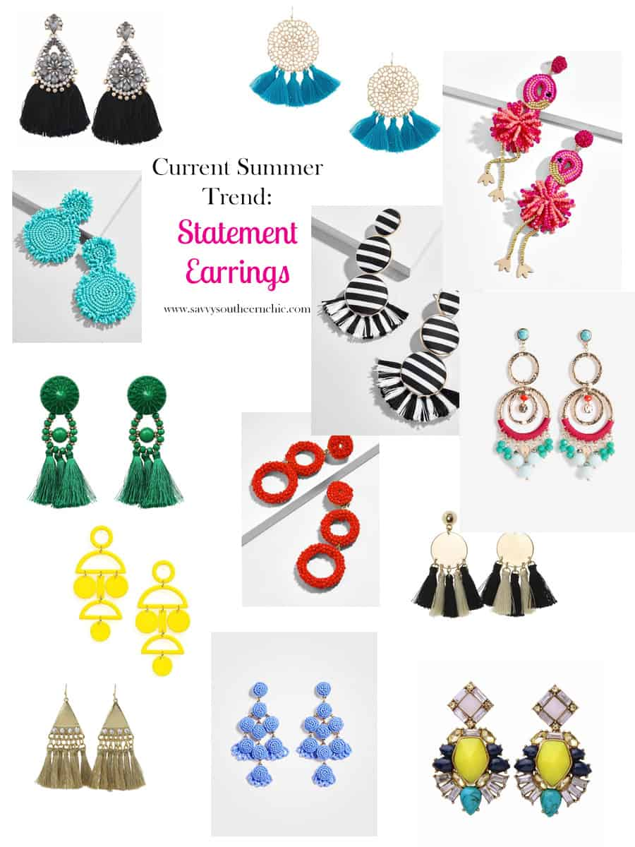 Affordable Summer Trend- Statement Earrings