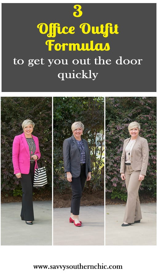 3 office outfit formulas