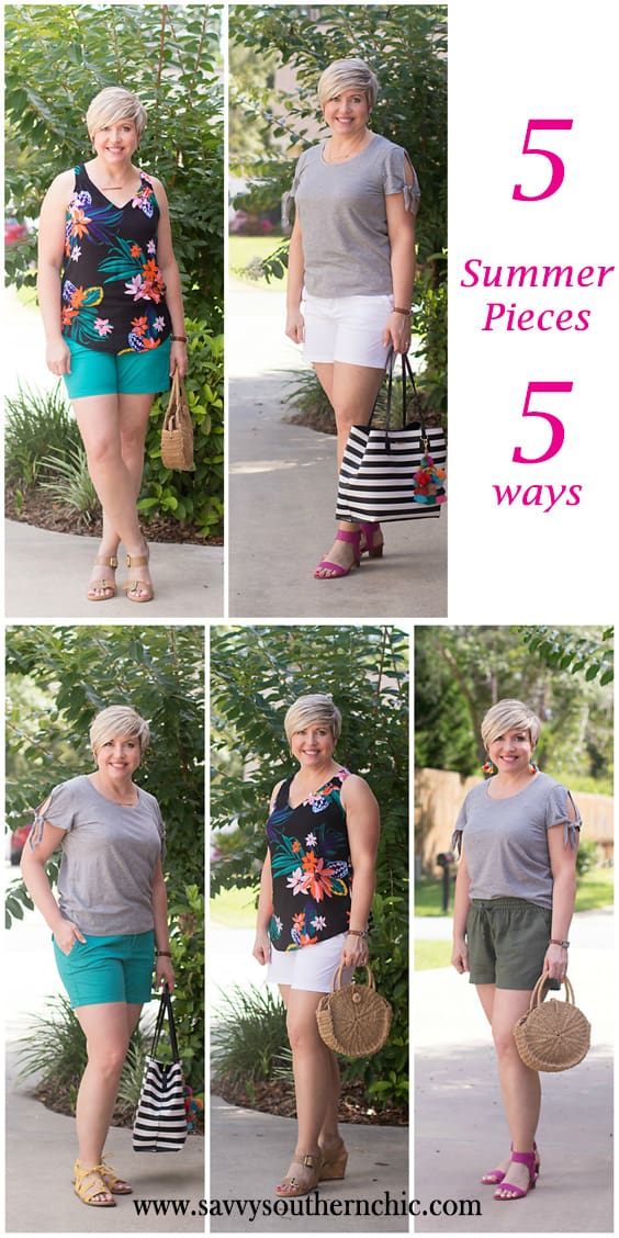 End of Summer Mini Capsule: 5 pieces 5 ways