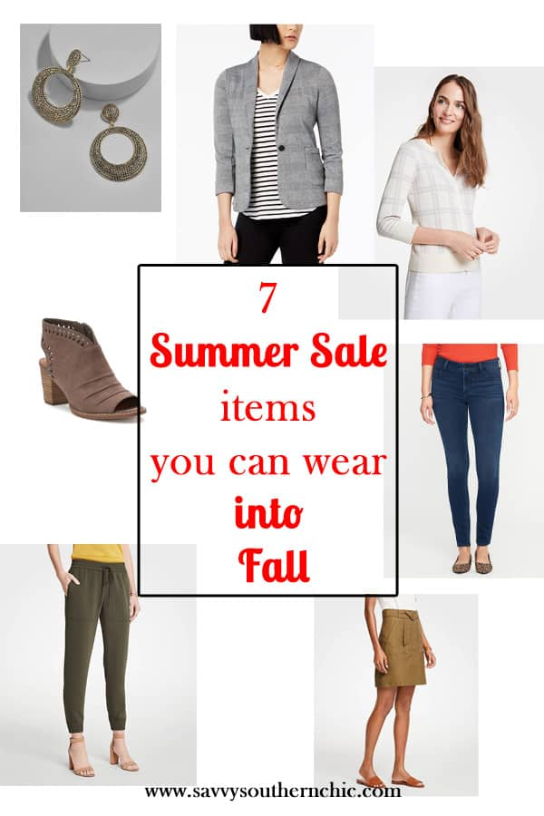 7 Summer Sale Items You Can Easily Wear Into Fall