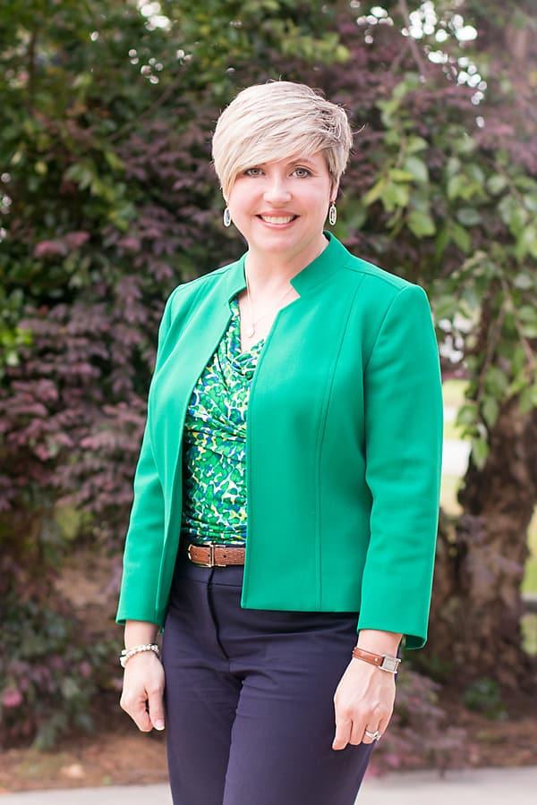 kelly green work jacket