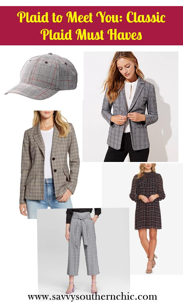 plaid fall must haves