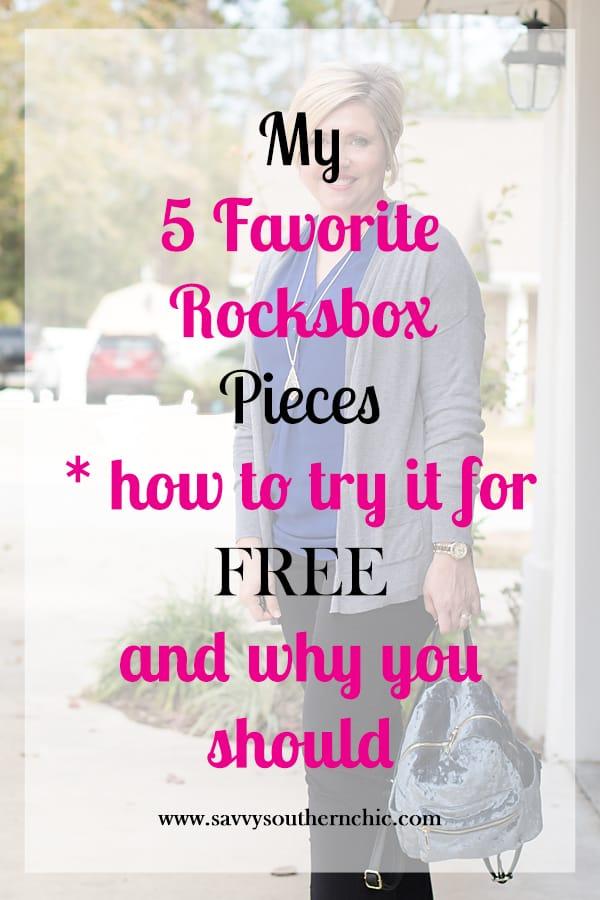 5 favorite Rocksbox pieces