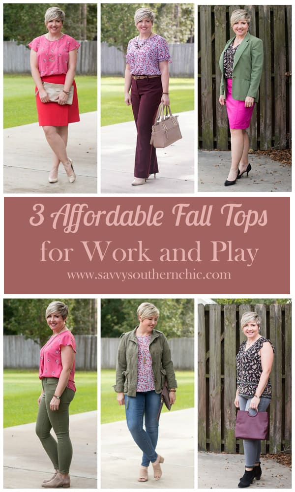 3 Affordable Fall Tops for Work and Play