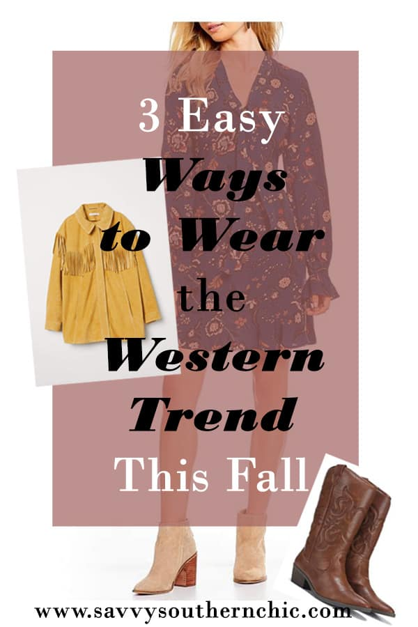 3 Easy Ways to Wear Western Trend This Fall (and weekend sales)