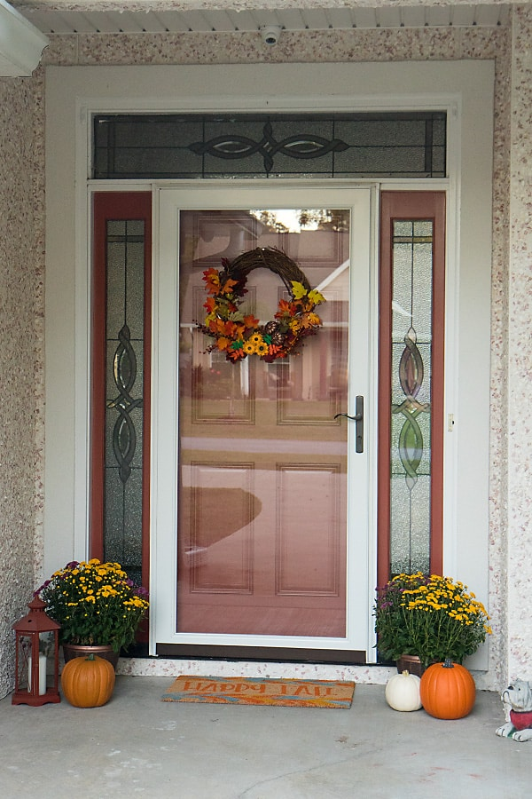 Style My Home: Easy Fall Front Porch Decor
