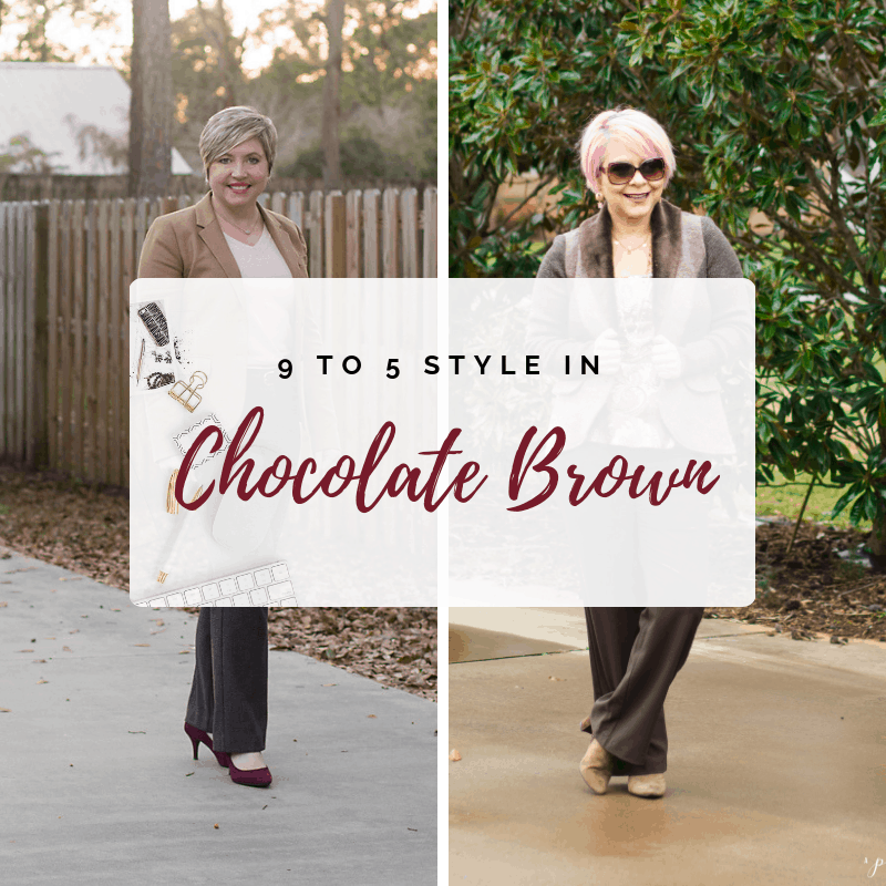 9 to 5 Style: Chocolate Brown