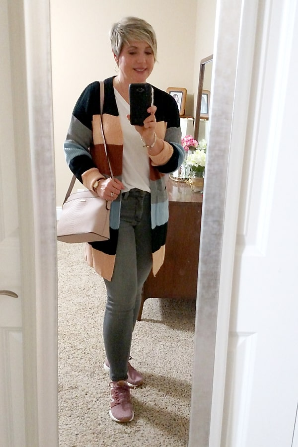 Amazon striped cardigan