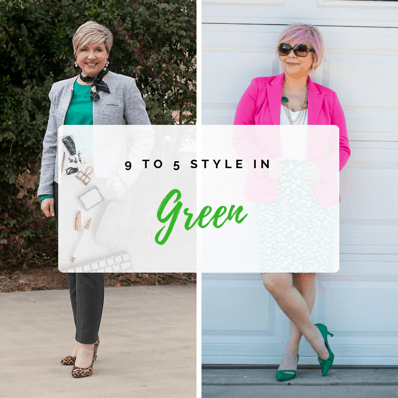 9 to 5 Style in Green
