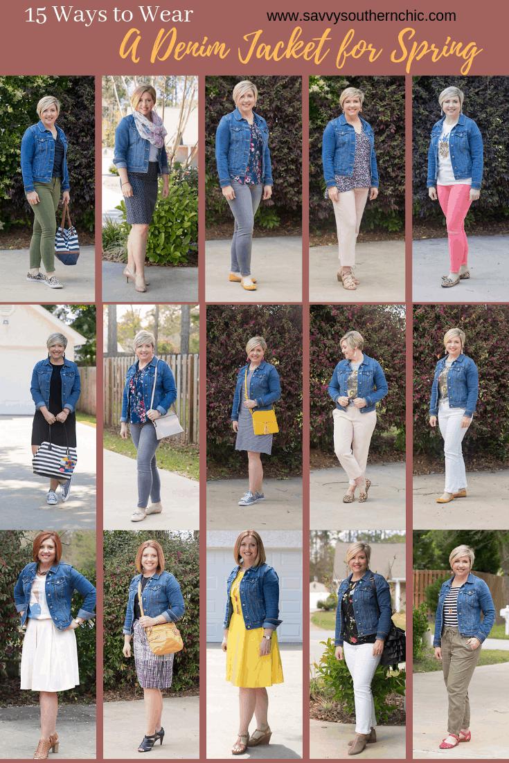 15 Ways to Wear a Denim Jacket for Spring