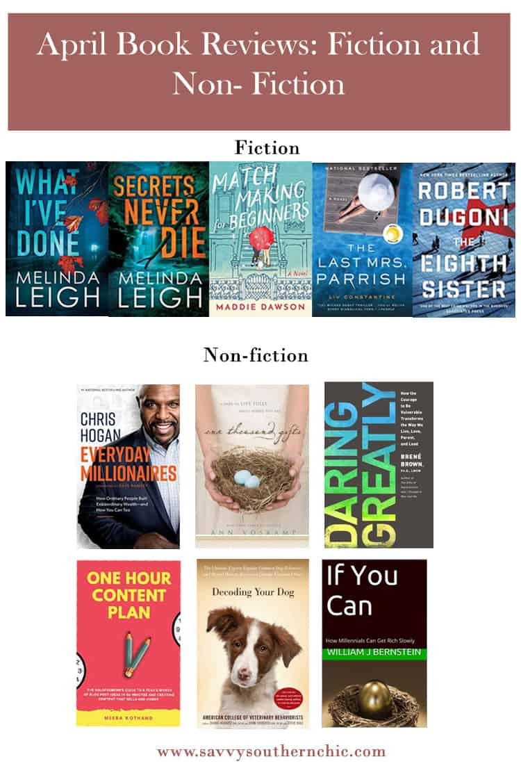 Book Reviews: Fiction and Non- Fiction