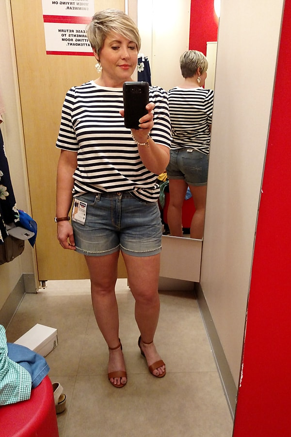 striped top from Target
