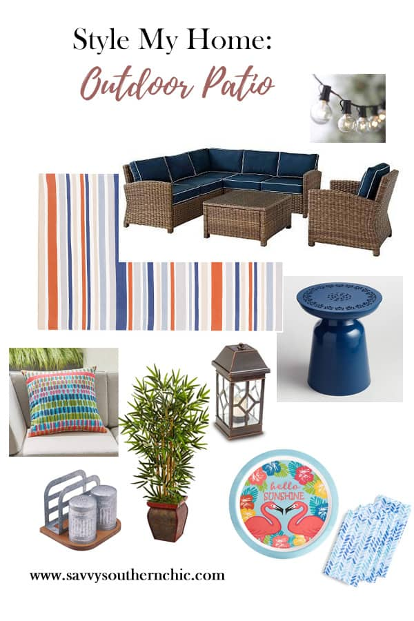 Style My Home- Outdoor Patio