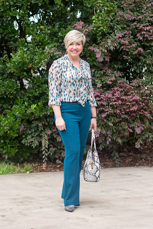 bow top office outfit