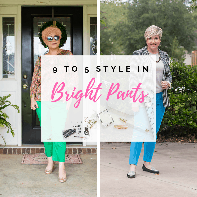 9 to 5 Style- Colorful Pants