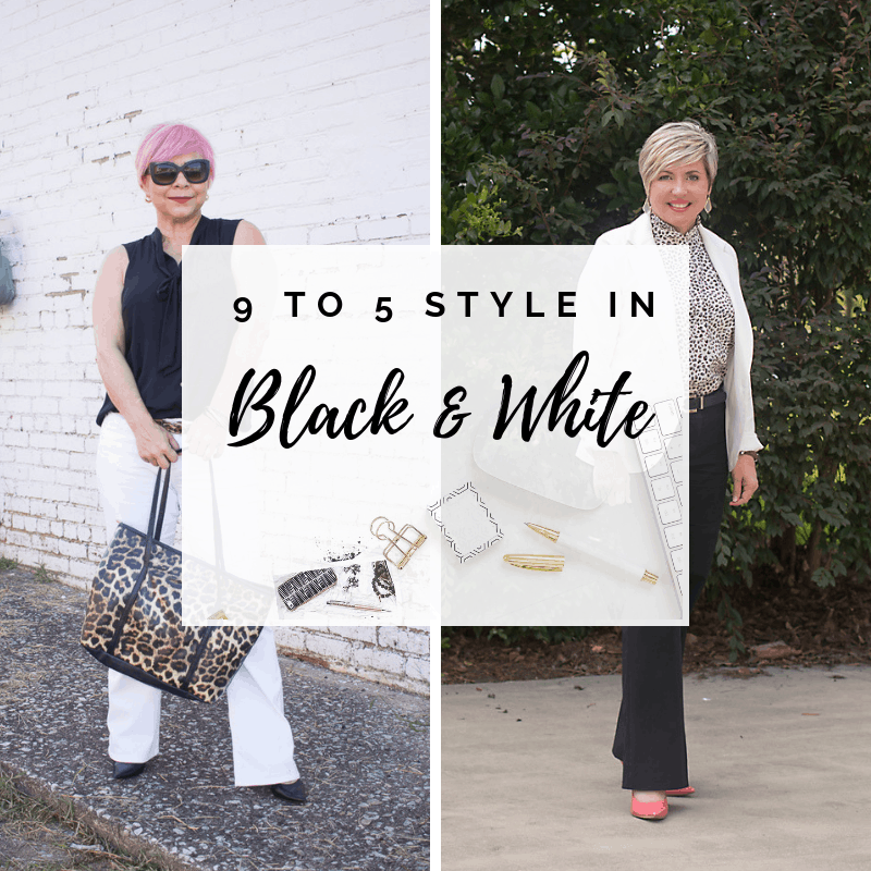 9 to 5 Style in Black and White