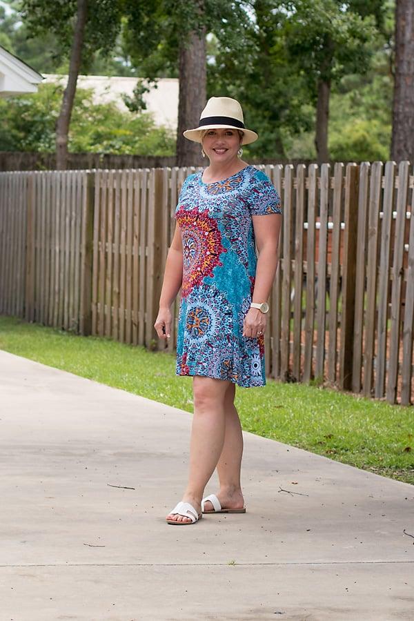 t-shirt dress summer outfit