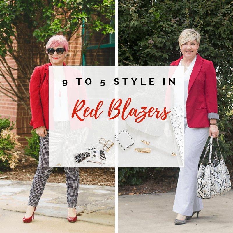 9 to 5 Style: How to Wear a Red Blazer