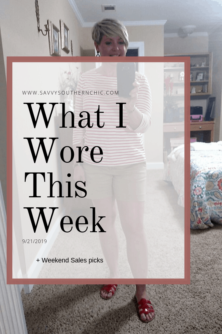 What I Wore This Week