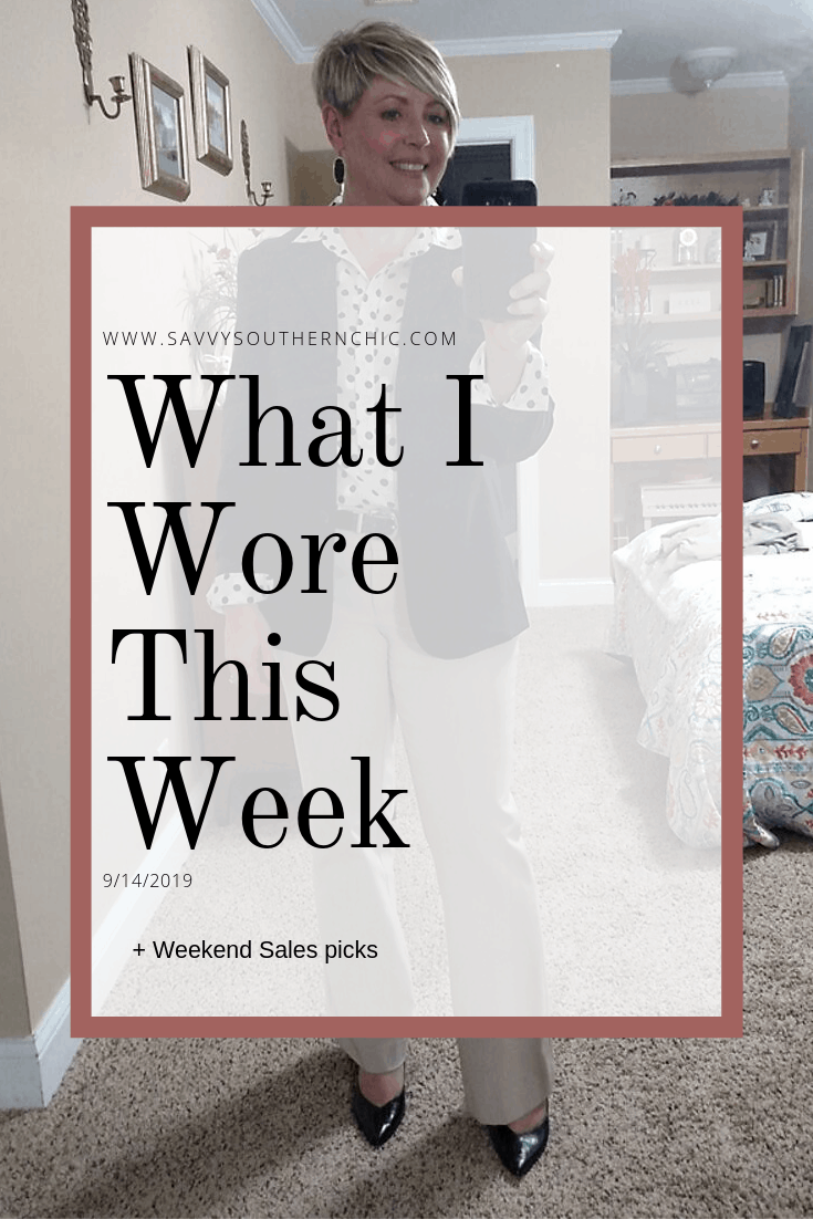 What I Wore This Week + Weekend Sales Picks