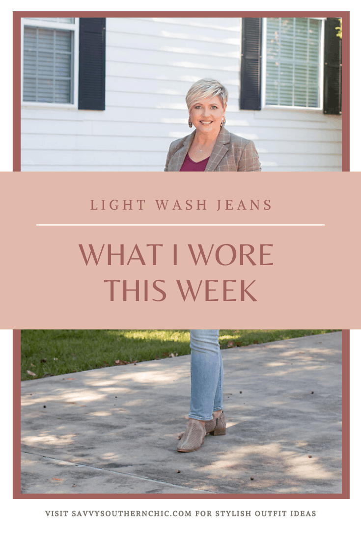 What I Wore This Week- New Jeans