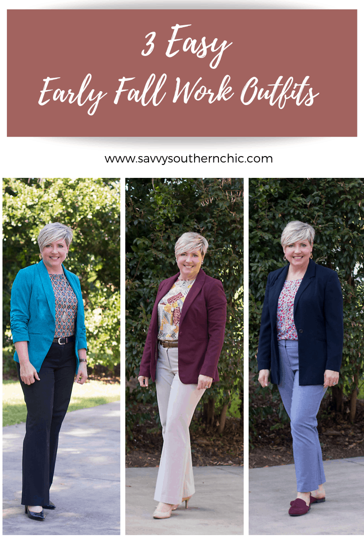 early fall work outfits