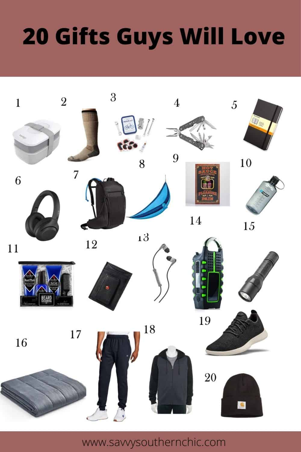 20 gifts guys will love, gift guide for him