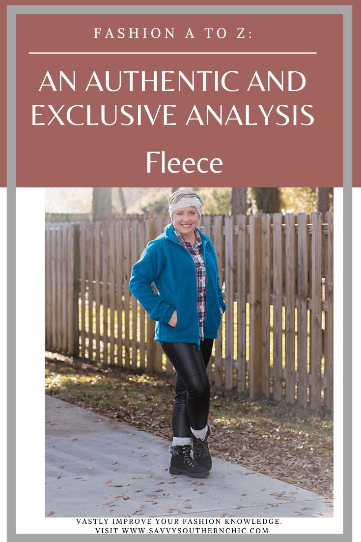 A to Z Fashion: F for Fleece