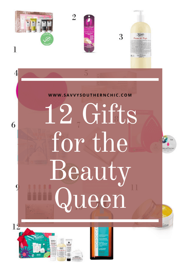 12 Fabulous Gifts for the Beauty Queen