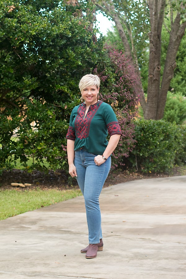 women's casual fall outfit