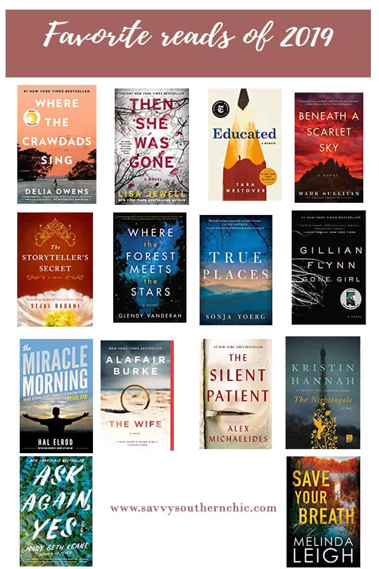 Favorite Reads of 2019: Add these to your list