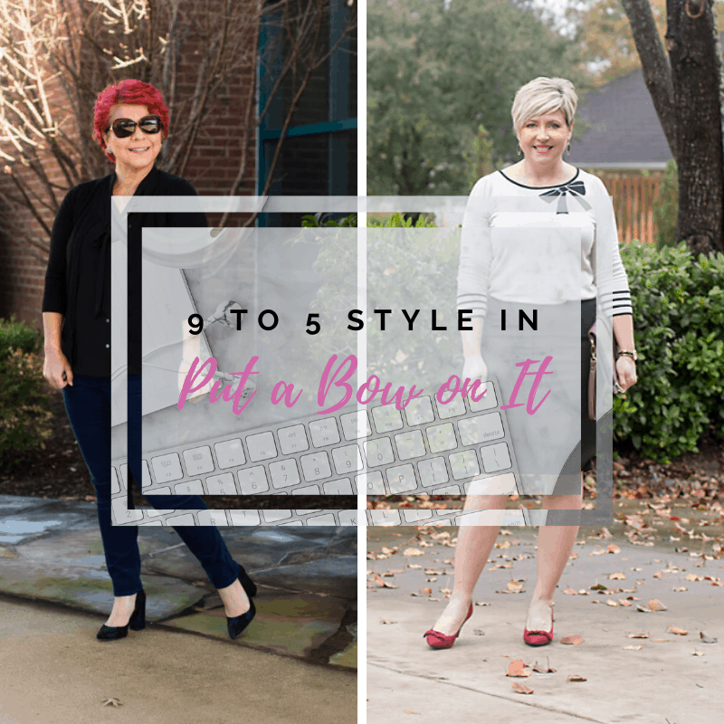 9 to 5 Style: Put a Bow on It
