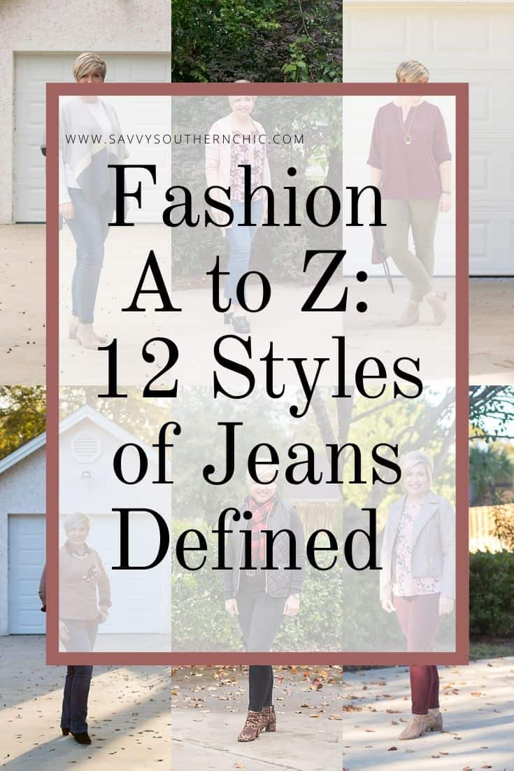 Fashion A to Z: 12 Styles of Jeans Defined