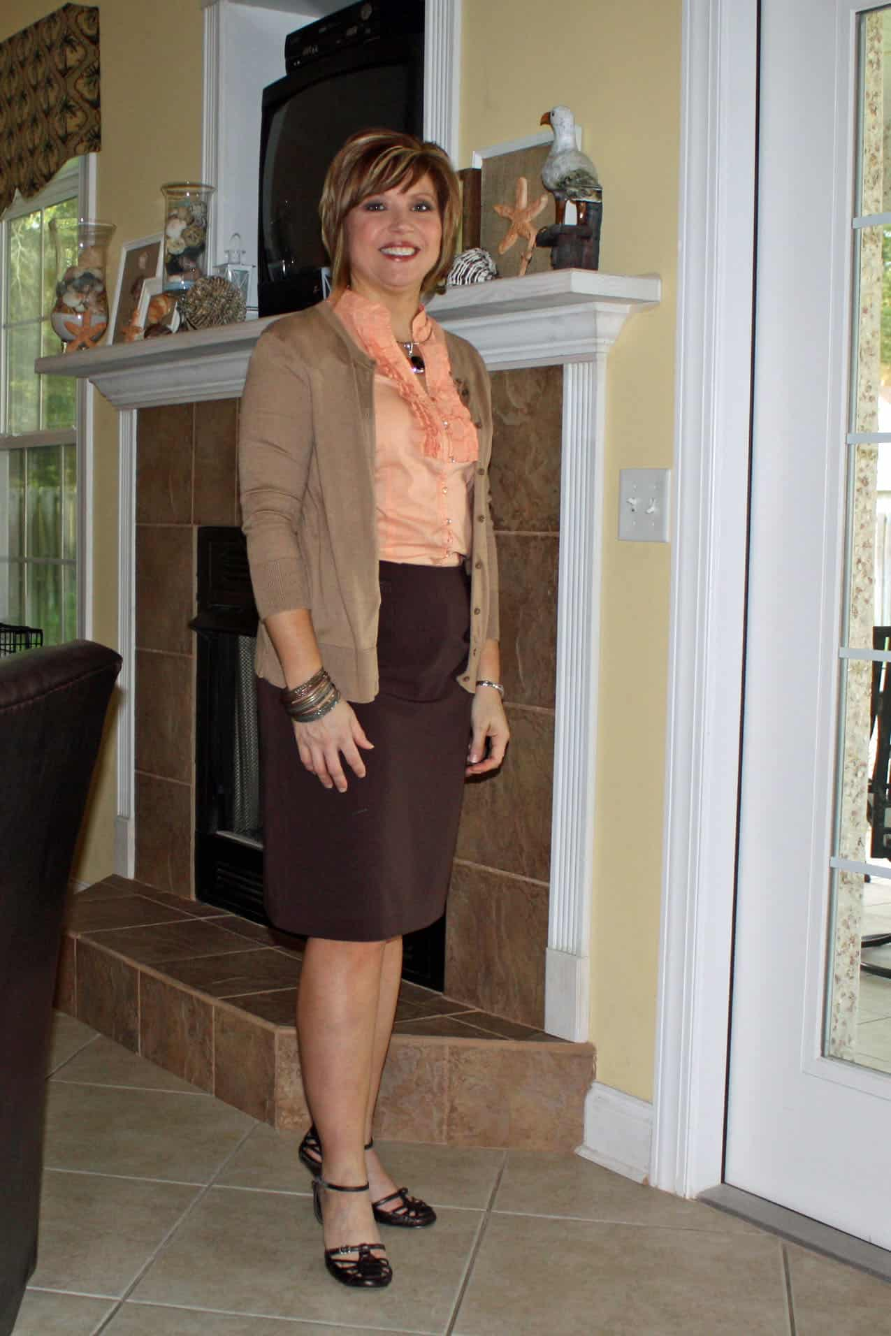 pencil skirt outfit 2011