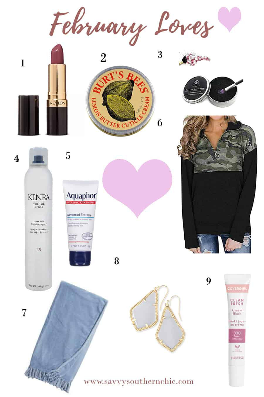 favorite products for February