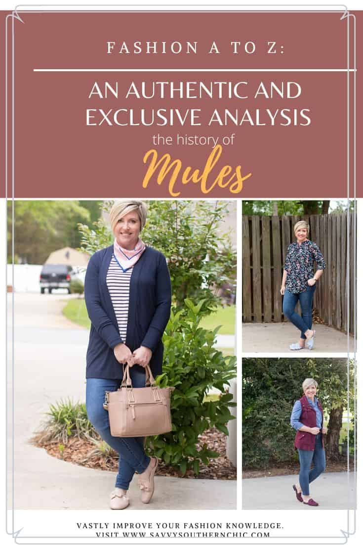 Fashion A to Z: M for Mules