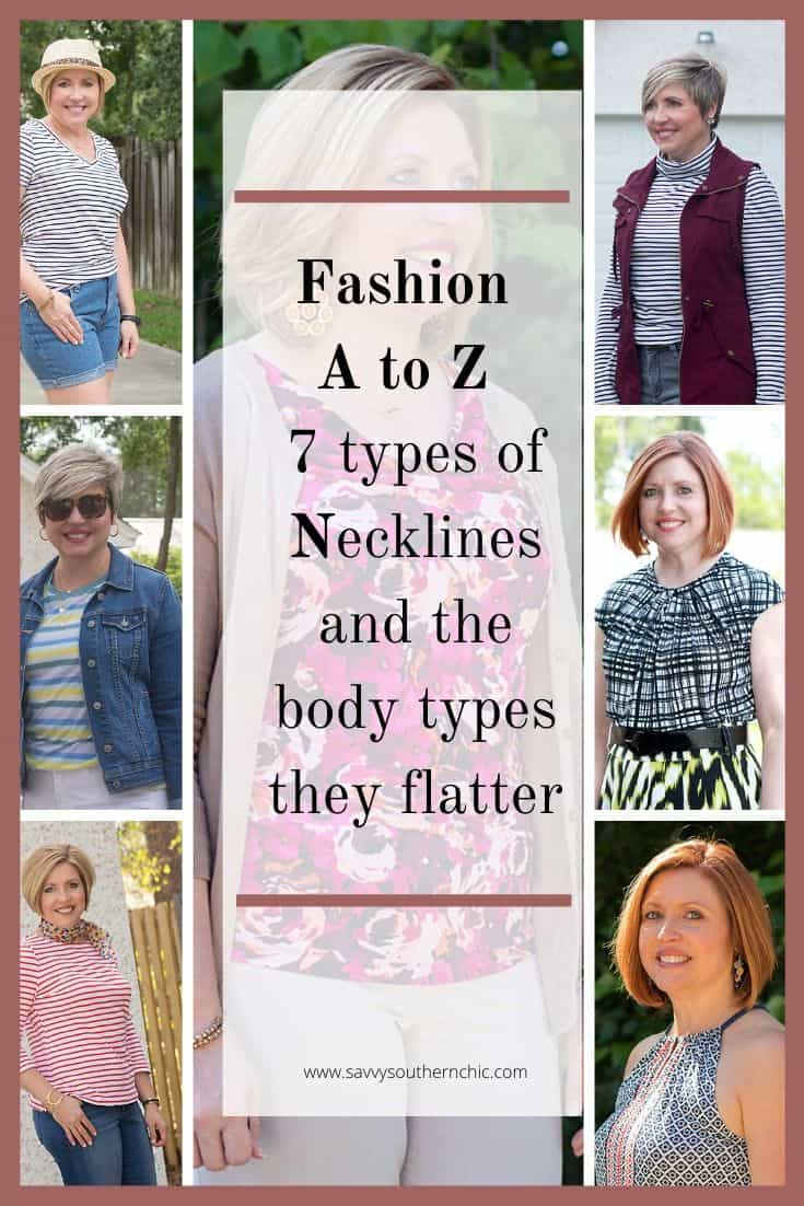 7 types of necklines, the right neckline for your body type