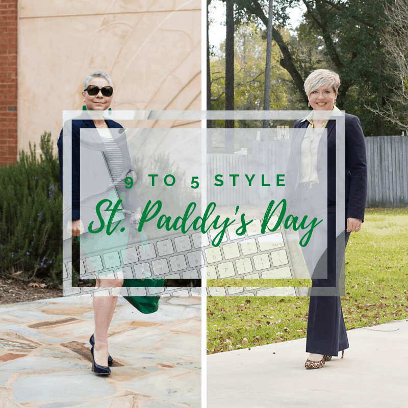 9 to 5 Style: St. Patrick's Day Green