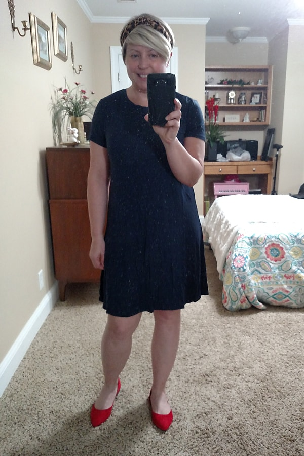 Spring try on Amazon dress