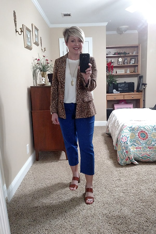 leopard jacket outfit