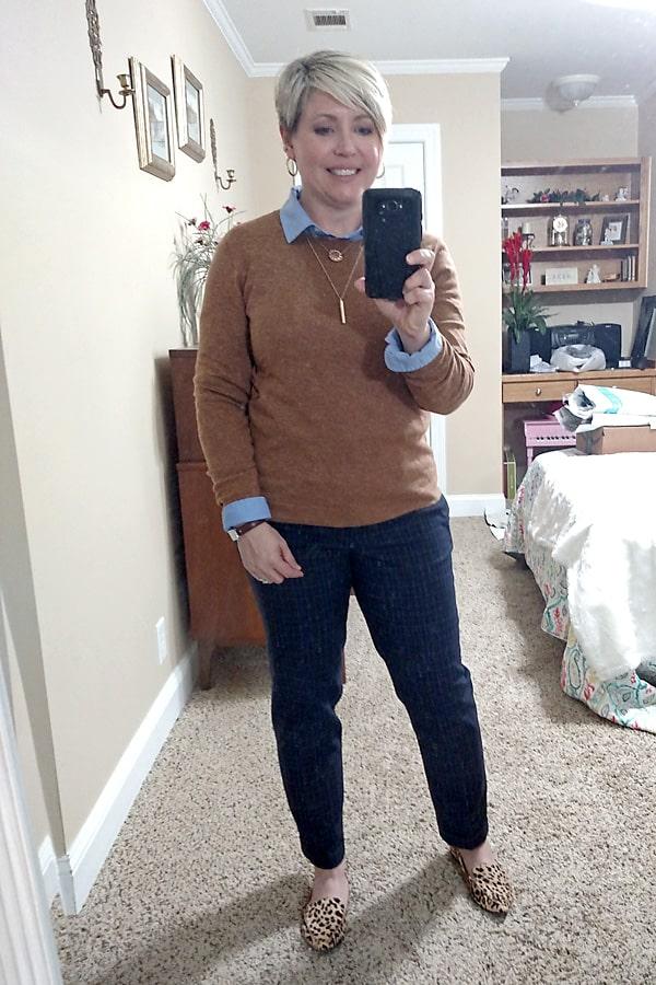 crew neck sweater