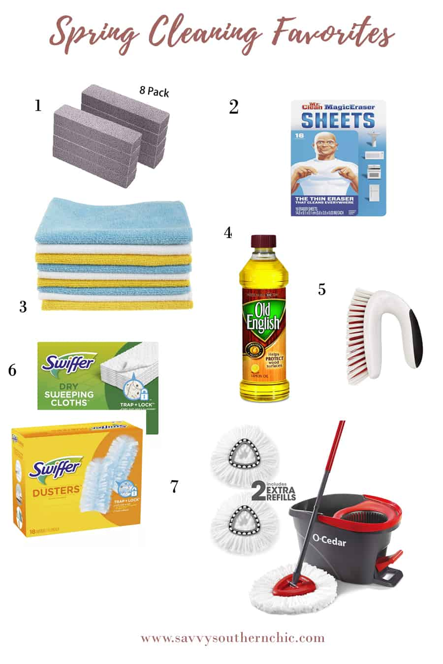 Spring cleaning favorites/ tools for cleaning