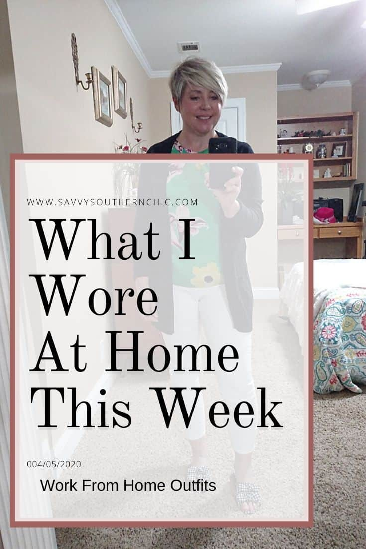 What I Wore At Home This Week