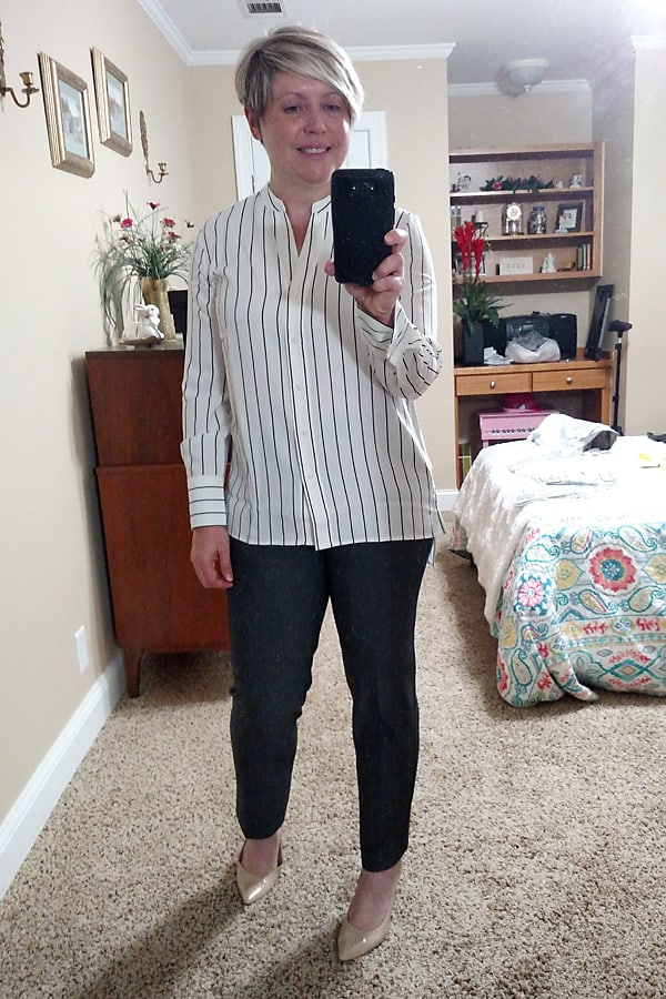 Tunic top for work
