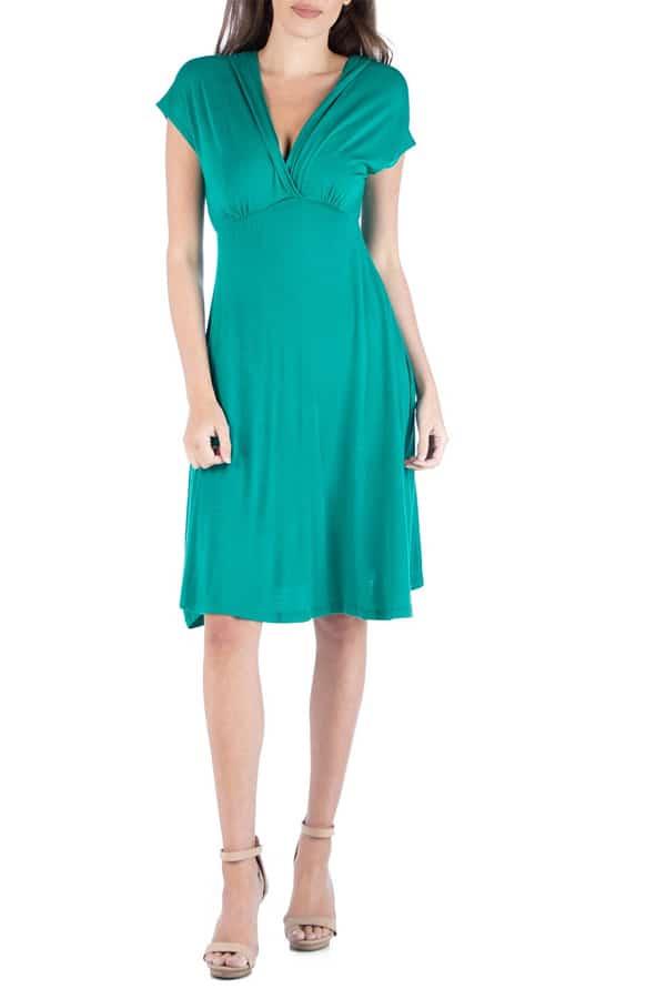 empire waistline dress