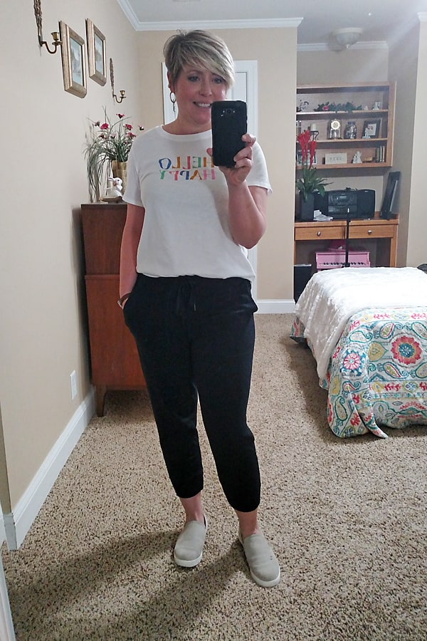 joggers outfit