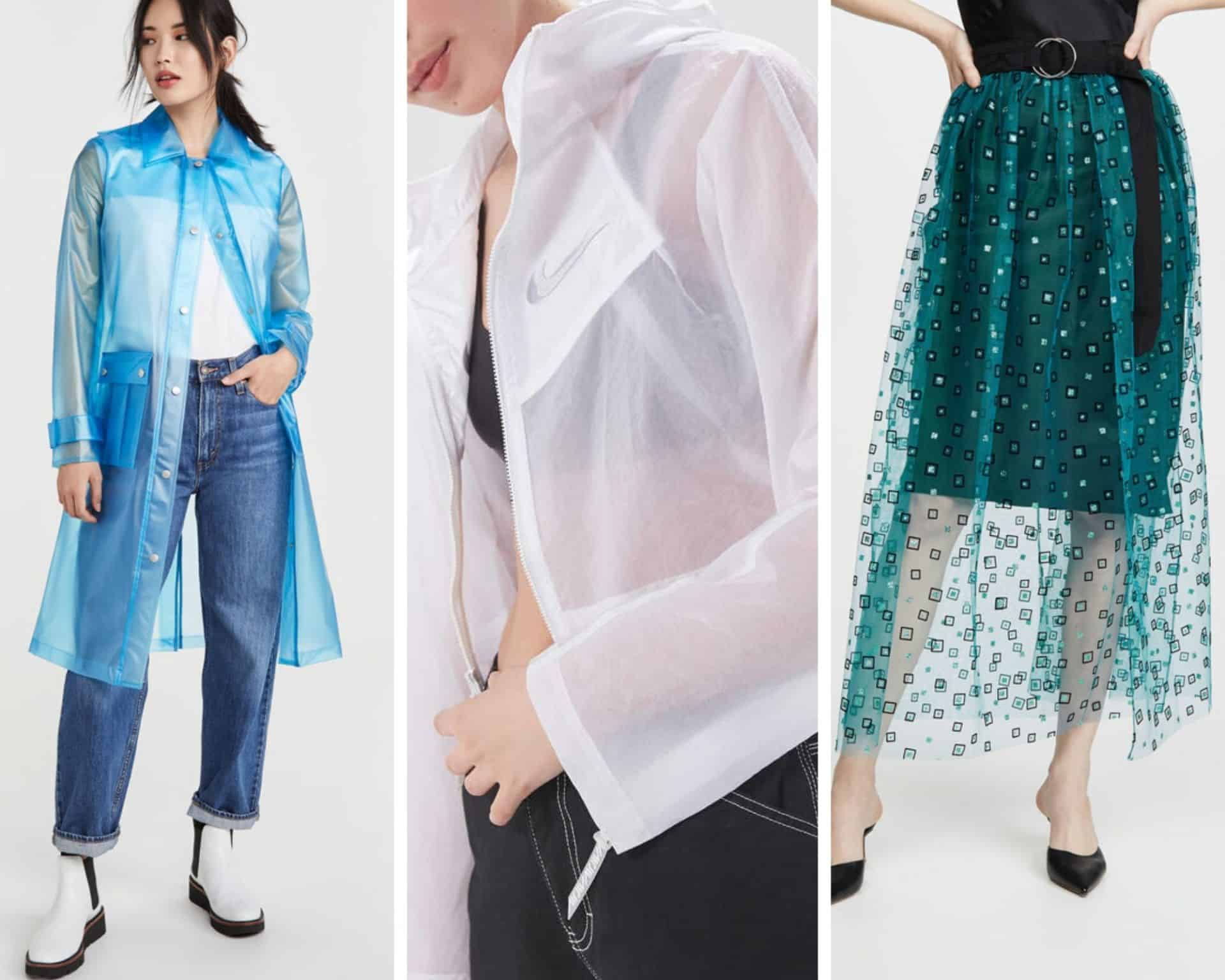 Fashion A to Z: X for X-Ray aka The Translucent Trend